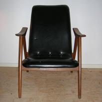 Tweedehands Design Stoelen Amsterdam.Loungestoel Louis Van Teeffelen A Serie Tweedehands Vintage